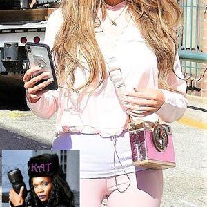 Handbags - Pink & Gold Crossbody CAMERA Shaped Purse